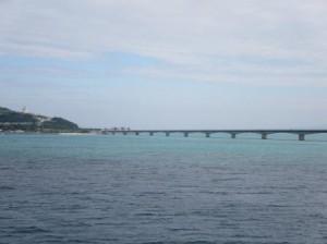 古宇島の大橋の横あたりから出航します
