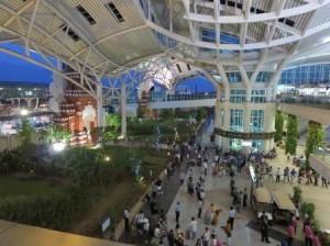 上から見た空港