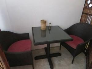 2名席の個室